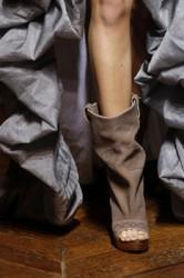 Vivienne Westwood Peep toe zomerlaars bruin