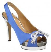Gant schoenen Pump met Plateau Blauw