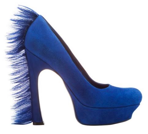Yves Saint Laurent schoenen haar