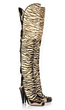 Roberto Cavalli Over-Knee boots