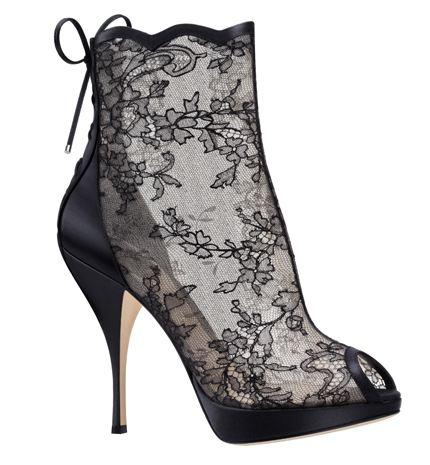 Dior Winterlaars 2012 Kant