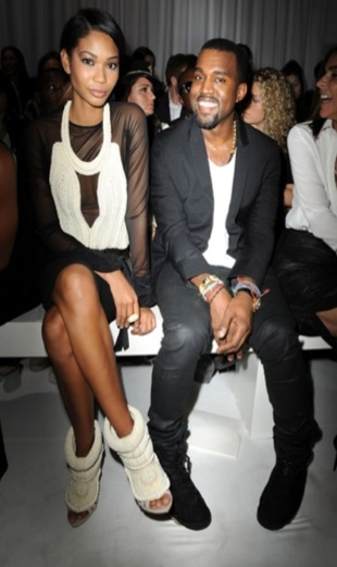 Kanye West shoes - Chanel Iman