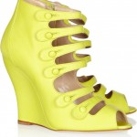 Oscar de la renta Gele schoenen 2012