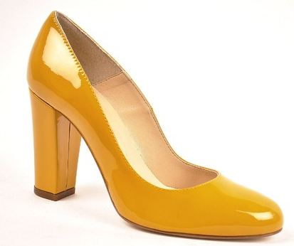 Les Autres schoenen Geel pump