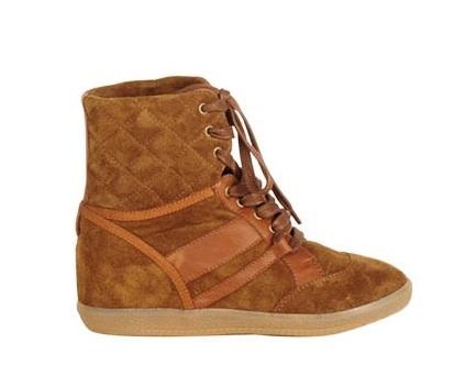 Sneakers met Sleehakken