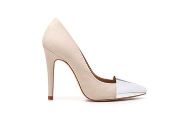 Zara schoenen Metallic tip