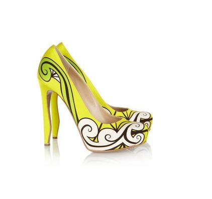 Nicholas Kirkwood Yellow shoes