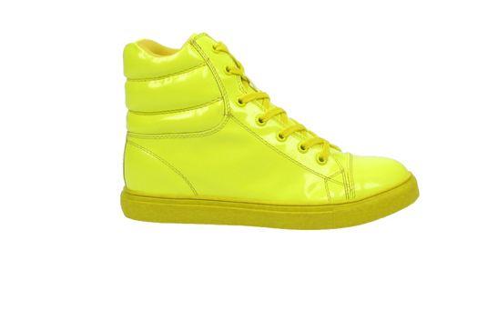Sacha sneakers neon geel